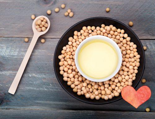 As isoflavonas da soja poderão diminuir o risco de doenças cardiovasculares.