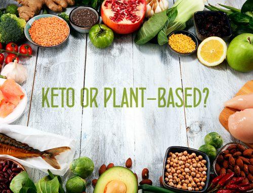 Quais as diferenças para o peso e saúde entre uma dieta de base vegetal pobre em gordura e uma dieta de base animal pobre em hidratos de carbono (cetogénica)?