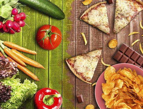 Nem todas as dietas vegetarianas são saudáveis.
